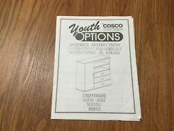 Chifferobe Guide Instruction Booklet Pamphlet Youth By Cosco