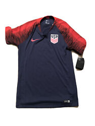 New Nike Usa Soccer Training Jersey Mens Adult Small Authentic Drifit 2016