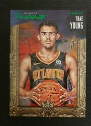 2018 Panini Court Kings Rookie Portraits Trae Young Rc Emerald 20/35