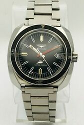 Vintage Longines Automatic Ultra-chron Stainless Steel Divers Watch 7970-1