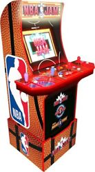 Arcade1up Nba Jam With Riser New In Box