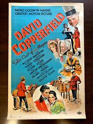 David Copperfield - W.c. Fields 1935 Us One Sheet Movie Poster Lb - Very Rare