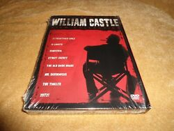The William Castle Film Collection 5 Disc Dvd Please See Important Notes Below
