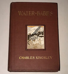 Water Babies Charles Kingsley Advance Preview Copy Hardback Book Antique 1916