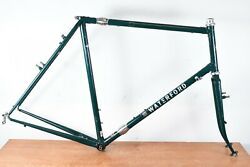 Waterford Precision Cycles 1900 24.5 Usa Suit Case Frame Reynold 753 Tubing