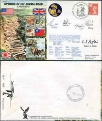 Js45/4 The Opening Of The Burma Road Signed Major Ralli And Others 30 Made