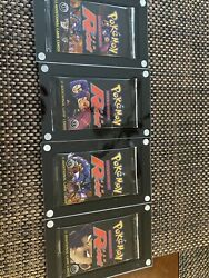 Pokemon 1st Edition Team Rocket Booster Packs Art Set New And Unopened W/case