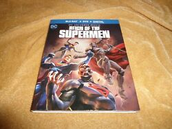 Reign Of The Supermen 2019 [blu-ray + Dvd] With Slip Case Box