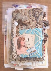 Fabric Covered Eclectic Junk Journal, Diary With Lots Of Extras