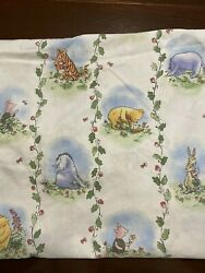 Red Calliope 1999 Classic Pooh Winnie The Pooh Crib Sheet Fitted Bedding Nursery