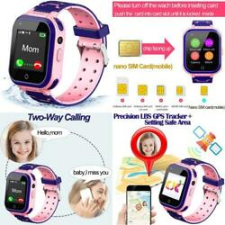4g Kids Smart Watchkids Phone Smartwatch W Gps Trackercallalarmpedometercam