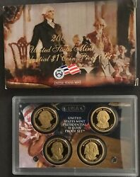 2007, 2008, And 2009 Us Presidential 1 Proof Sets With Box And Certificate