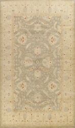 Floral Vegetable Dye Peshawar Oriental Large Area Rug Hand-knotted Classic 10x14