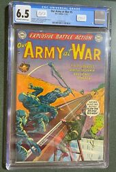 1952 Our Army At War 5 Cgc 6.5 Pop 2