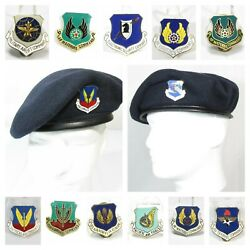 New Dscp Usaf Air Force Security Police Sp Beret Crest Most Commands Size 7 3/8