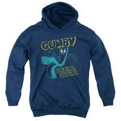 Gumby Bend There Youth Hoodie Ages 8-12