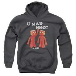 Gumby U Mad Bro Youth Hoodie Ages 8-12