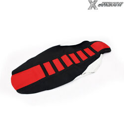 Crf450r 09-12 Mx Gripper Ribbed Pvc Seat Cover For Honda Crf250r 2010 2011 12 13
