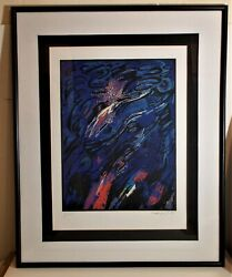 Mohammed Kacimi Vintage L.e 1/25 Hand Numbered And Signed