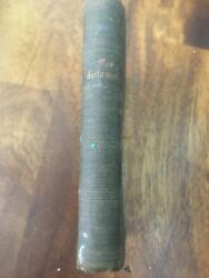 Very Rare 1886 Antique Swedish Testamentet Printed By Ny American Bible Society