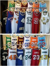 Rare Authentic Retro College Throwback Jersey Nba Legends - Brand New W Tags