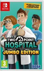 Two Point Hospital Jumbo Edition Switch In Stock Now Brand New Sealed