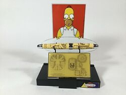 Acme Studio Extremely Rare Simpson's Roller Ball Pen And Card Case With Display