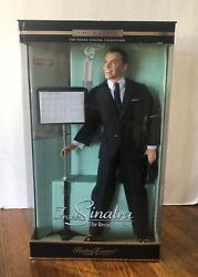 Frank Sinatra Doll Timeless Nib Sealed Treasures By Mattel 26419 First In Series