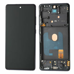 For Samsung Galaxy S20 Fe G780 Lcd Display Touch Screen+frame Bestoem Cloud Navy