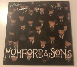 Mumford And And Sons 10 Ep - The Cave And The Open Sea Etched Vinyl Rare Signed