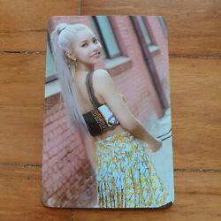 Mamamoo Solar Spit It Out Official T-shirt Photocard Kpop Album Rare