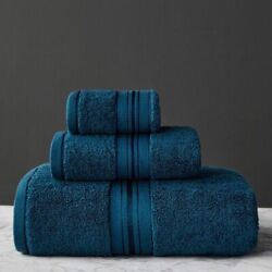 Towel Set Bath And Face Short Towels Egyptian Cotton For Bathroom Travel Sports