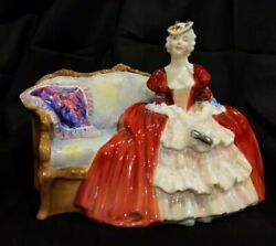 Royal Doulton Bell O The Ball Hn1997 Porcelain Lady Figurine Large Excellent