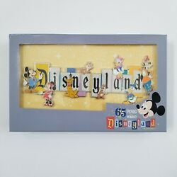 Disneyland Park 65th Anniversary Marquee Boxed Jumbo Pin Limited Edition 1000