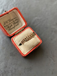 Antique Chunky Gold Keeper Ring