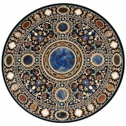 36 Marble Dining Table Top Inlay Rare Semi Round Center Coffee Table Ar1079