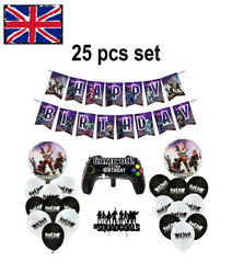 New 25 Pieces Fortnite Birthday Balloons Set For Boys And Girls Ps5 Xbox N