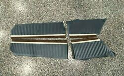 1971 Dodge Charge Upper Blue Door Panels Front And Rear Set