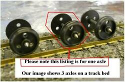 1 Piece - Jackson Romford Jr4 Dc Wheel Axle Drilled 3 Hole 12mm Pin Point