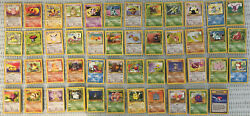 Vintage Lot Of 613 Pokemon Jungle Edition Never Played See List
