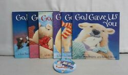 Set Of 6 God Gave Us Books By Lisa Tawn Bergren Art By Laura J Bryant Ages 3-8