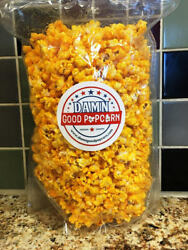 2 Bags Of Xtra Cheddar Cheese Please Popcorn By Damn Good Popcorn