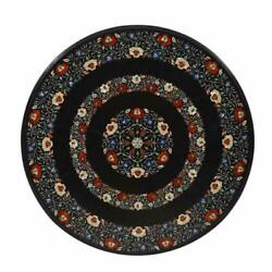 36 Marble Dining Table Top Inlay Rare Semi Round Center Coffee Table Ar1181