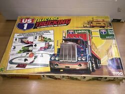 Tyco Electric Trucking With 4 Action Stations Slot Trucks Mib Vintage Italy