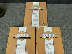 2003 Chevy S10 Truck Shop Service Repair Manual Ls Zr2 Xtreme Extended Cab