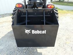 New Bobcat Rear Ballast Box For Compact Tractors 3 Pt Hook Up Category 1