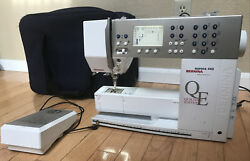 Bernina Aurora 440 Qe Computerized Sewing Machine Quilterand039s Edition With Case