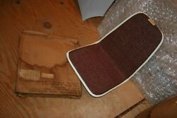 Nos 1964-67 Rotunda Mustang Accessory Ventilated Seat Cushion Super Rare Red