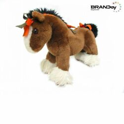 Authentic Hermes Hermy Baby Horse Plush Doll Brown Total Length 33cm 2210103