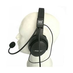 Ufq Av Mike-2 Aviation Headset Microphone Suit For Bose Qc25 Qc35 Sony Mdr 10...